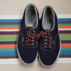 Vans Leather detail skate shoes
